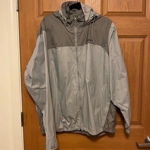 Columbia hooded lightweight jacket